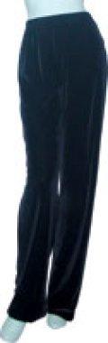 045-01 ストレートパンツ ベロア・クラッシュベロア